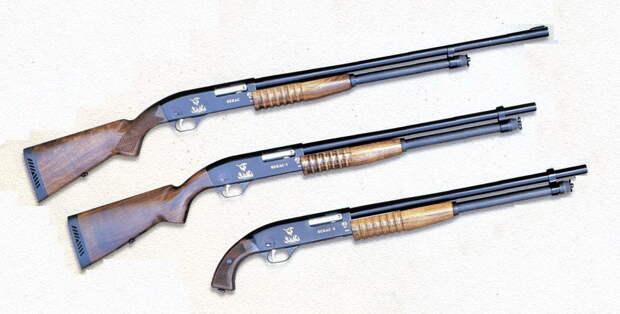 Помповое ружье: история создания, характеристики, споры и мнения