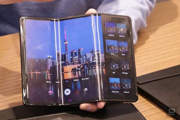 TCL показала прототип планшета, сгибающегося в двух местах