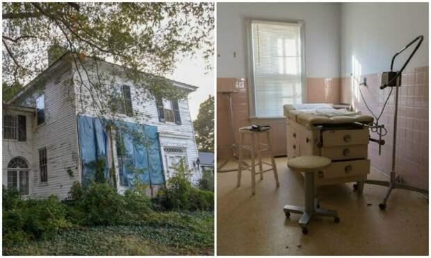 Мастер съемки заброшенных локаций  Брайан Сансиверо проник в домврача
