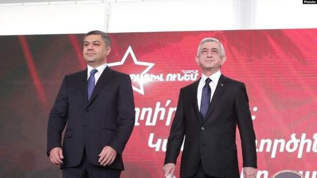 Блок Сержа Саргсяна счëл «позорными» прошедшие вАрмении парламентские выборы