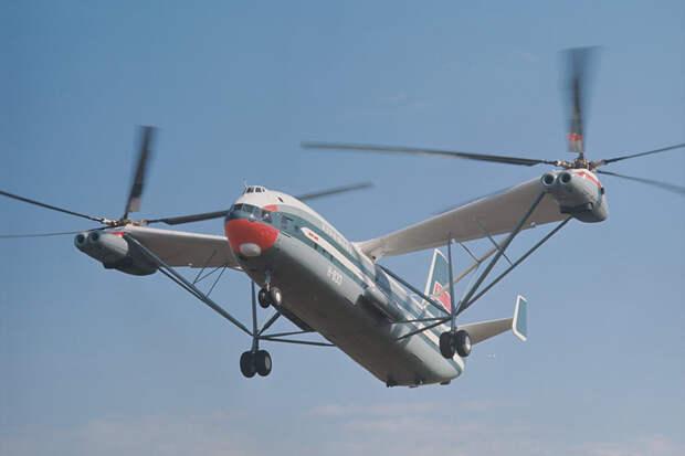 Непревзойденный: Ми-12 установил рекорд грузоподъемности 51 год назад