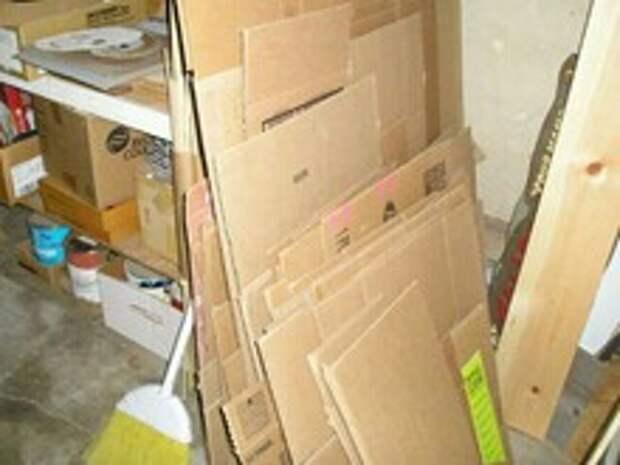 Тумба из картона (diy)