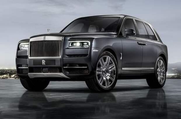Rolls-Royce Cullinan: встречаем самый крутой в мире кроссовер