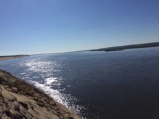 Река Буотама, по которой отдыхающие любят сплавляться