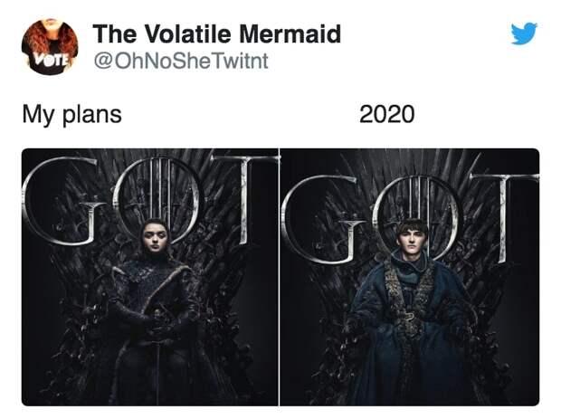 13 одновременно смешных и грустных мемов про планы на 2020 год