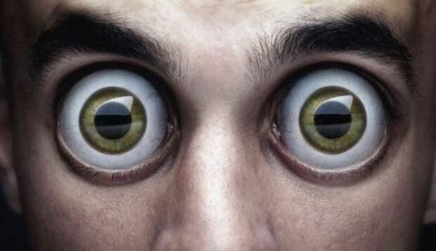Картинки по запросу человек с большими глазами