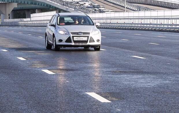 Собянин открыл движение по Аминьевскому шоссе после реконструкции. Фото:mos.ru