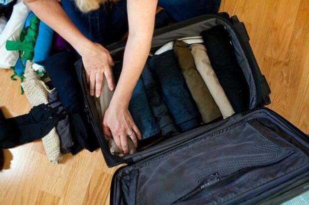 Как собрать чемодан видео Она Леди