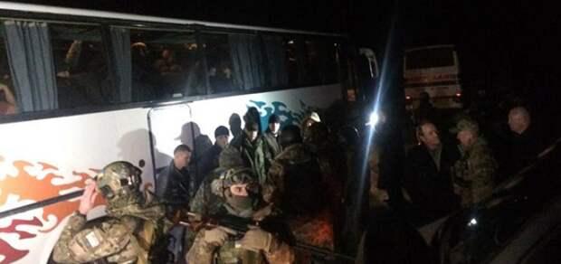 Обмен пленными Украина