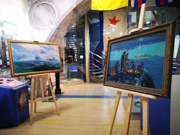В Музее ВМФ открылась выставка художников-маринистов