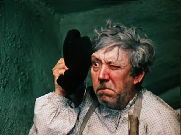"""Остап Бендер из """"12 стульев"""" Гайдая. Фотопробы."""
