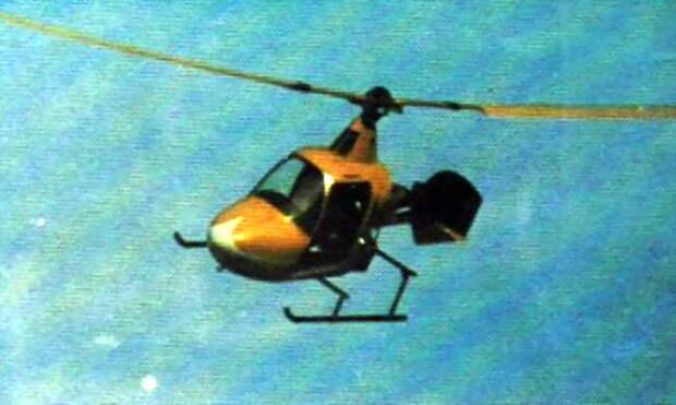 Model-200 Yellow Bird в полёте, 1973 год - Нетрадиционная любовь Бруно Наглера | Warspot.ru