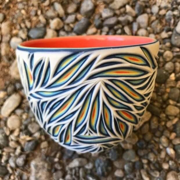 Резная керамика от Шона Фореста Робертса