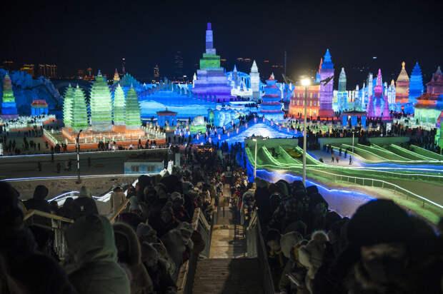 Январские кадры из Китая