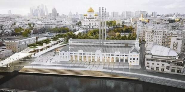 Собянин: Реставрация исторической ГЭС-2 вышла на финишную прямую