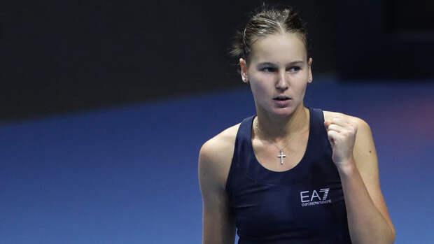 Кудерметова вышла в четвертьфинал турнира в Стамбуле