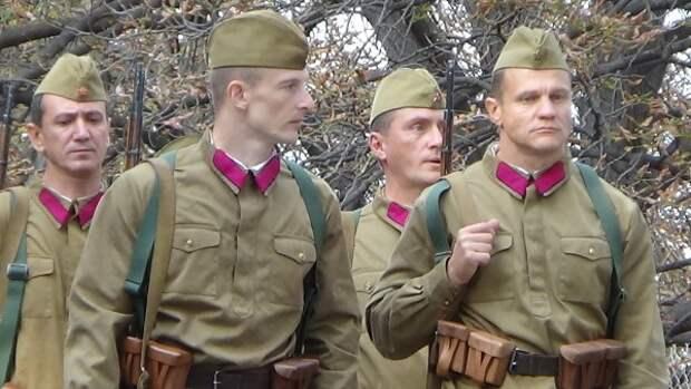 В Севастополе снимают фильм: как русские побеждают немцев