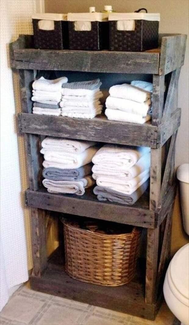 Практичные советы по компактному хранению полотенец в ванной