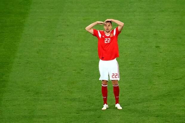 Дзюба объяснил жест в адрес тренера (ФОТО)
