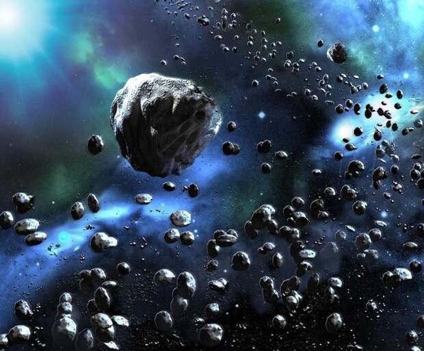 Какова масса всех астероидов Солнечной системы? астероиды, интересное, космос, наука, факты