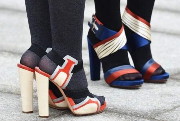 Основные правила, как сочетать колготки и обувь, о которых мало кто знает