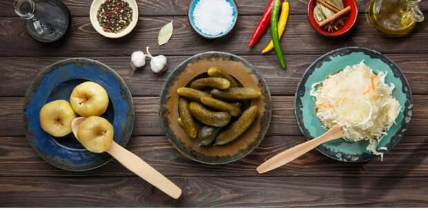 Полезная еда: квашеные и соленые овощи для долголетия