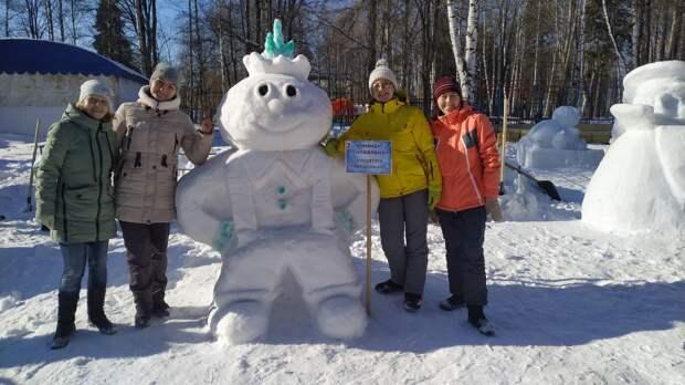 Конкурс снежных фигур «Белый фестиваль — 2021» пройдёт в Ижевске 21 февраля