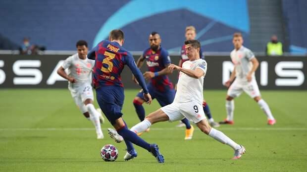 «Бавария» разгромила «Барселону» в четвертьфинале Лиги чемпионов