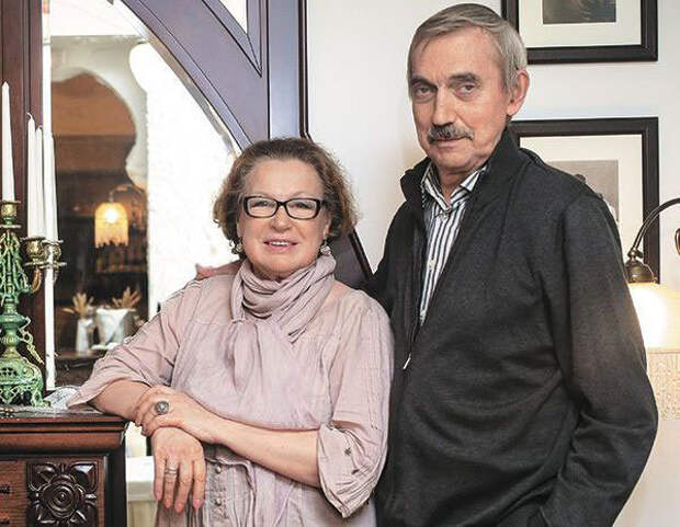 Евгений Арсеньевич и Галина Максимовна