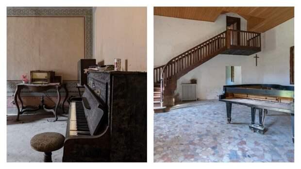Когда умолкла музыка: печальные пианино в заброшенных зданиях