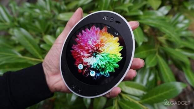 Аndroid-смартфон с круглым экраном: первые изображения