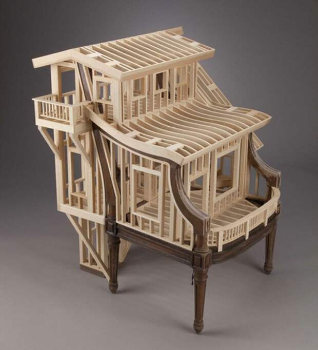 Кресло домик