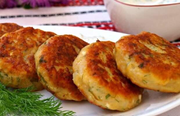 Вкуснейшие картофельные оладьи с сыром