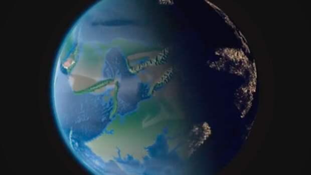 Эпическую историю зарождения Земли воссоздал программист в четырехминутном ролике
