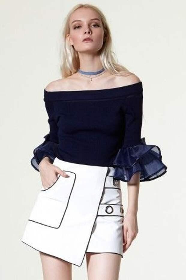 необычная юбка мини