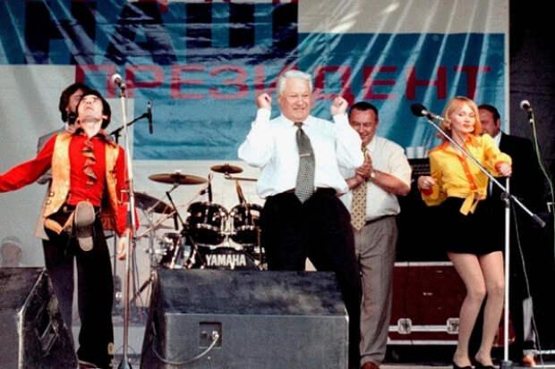 Алёна Апина рассказала ороли поп-звёзд впобеде Ельцина навыборах в1996 году