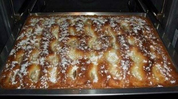 Пирог с яблоками, как пирожное: просто шедевр!