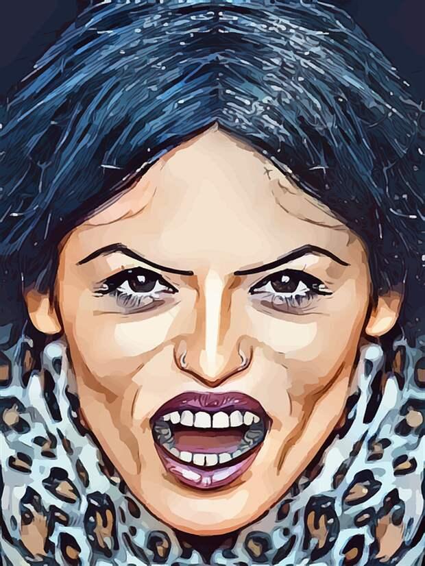 Сердитый, Женщина, Псих, Женский Пол, Раздраженный