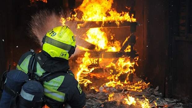 Пожар на складе юго-востока Москвы удалось ликвидировать