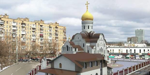 Храм в Анадырском проезде достроят к 2022 году