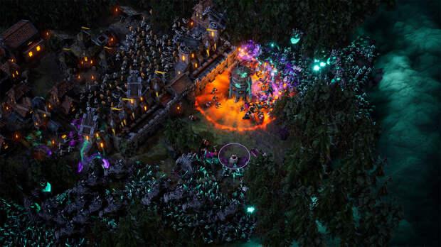 Стратегия Age of Darkness нарисует 70 000 монстров на экране одновременно