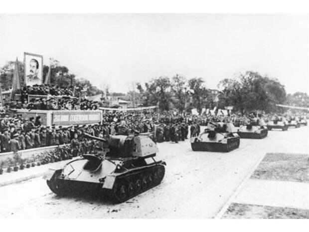 Последний парад белой армии