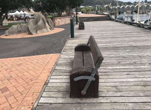 Скамейка перевёртыш