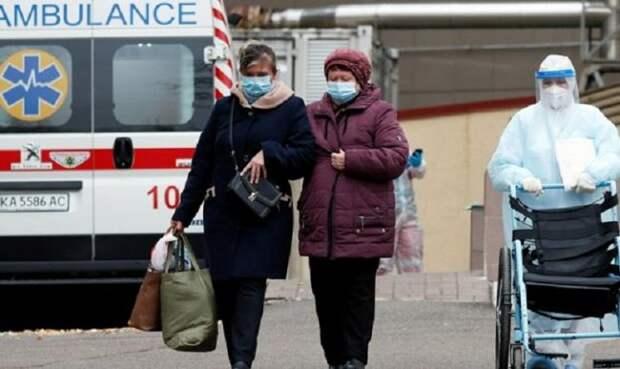 НаУкраине антирекорд покоронавирусу обновился третий день подряд