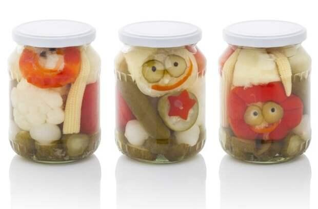 Ассорти из разных овощей