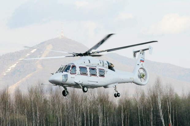 Сертификационные испытания Ка-62 запланированы на 2018 год