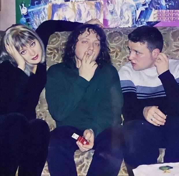 Певица Натали, Глеб Самойлов и Алексей Остудин, Россия, 1999 год