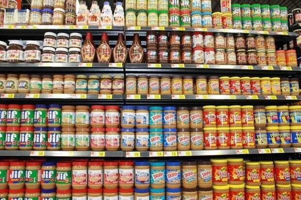 Старая добрая раскладка продукты, супермаркет