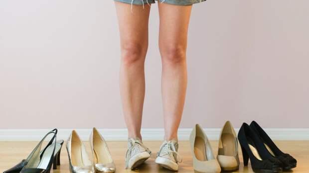 5 ошибок, которые не надо допускать, выбирая обувь