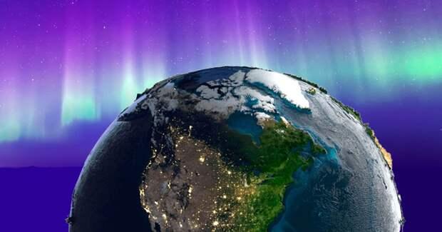 В 19 веке из-за геомагнитной бури северное сияние видели по всему миру